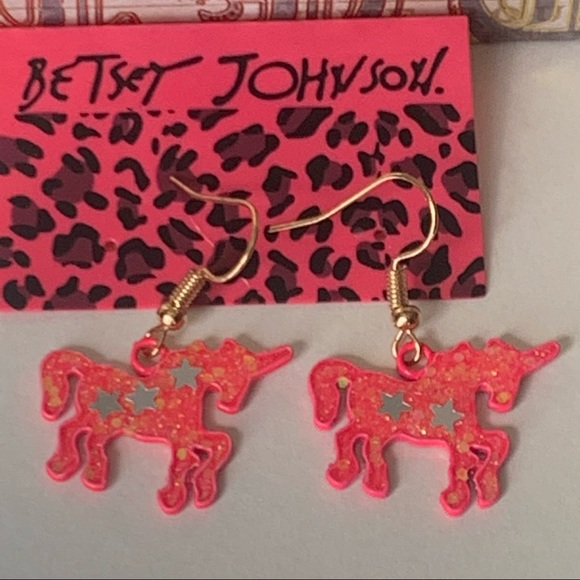 Betsey Johnson Style - Magic Unicorn Earrings